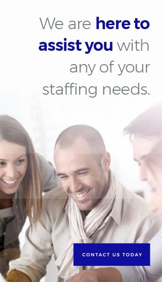 The Job Connection is here to help you with any staffing needs